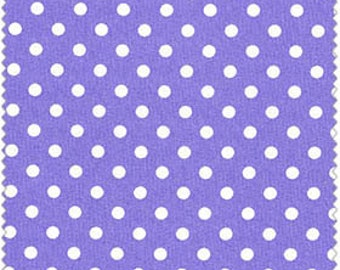 Crafty Cotton Purple Dot Cotton Fabric 4270-3