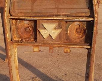 Antique Massey Ferguson MG Tractor Grille // Yard Art // California Barn Find