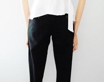 a1c096f6a81 Y s Yohji Yamamoto Cotton Carrot Pants (Unworn)