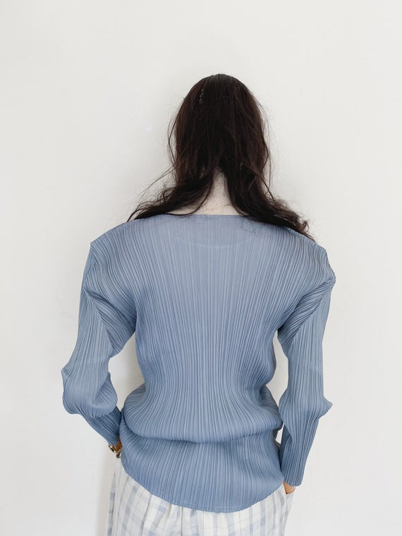 Pleats Please by Issey Miyake pleated top - image 5