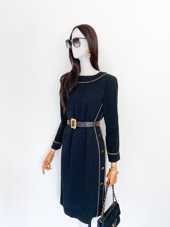 VTG Givenchy nouvelle boutique mini houndstooth on