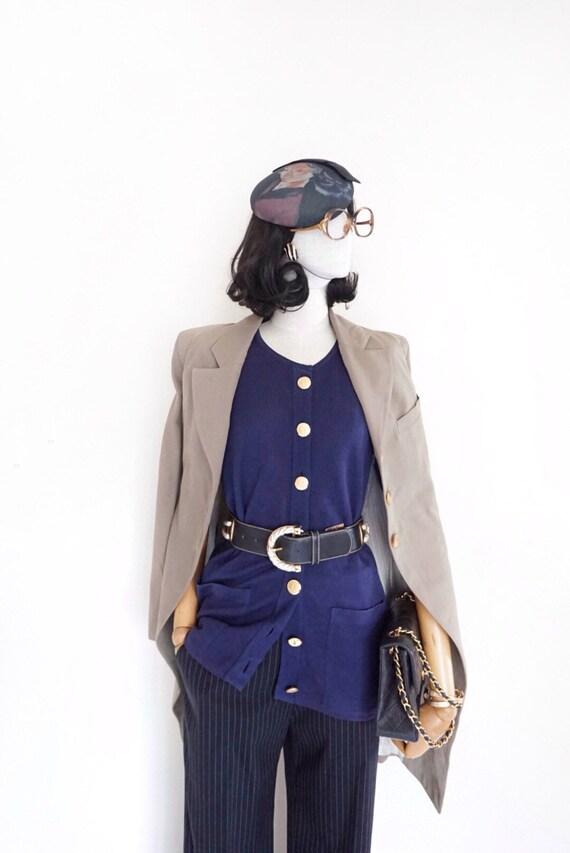 Ann Demeulemeester tailed long blazer jacket (made