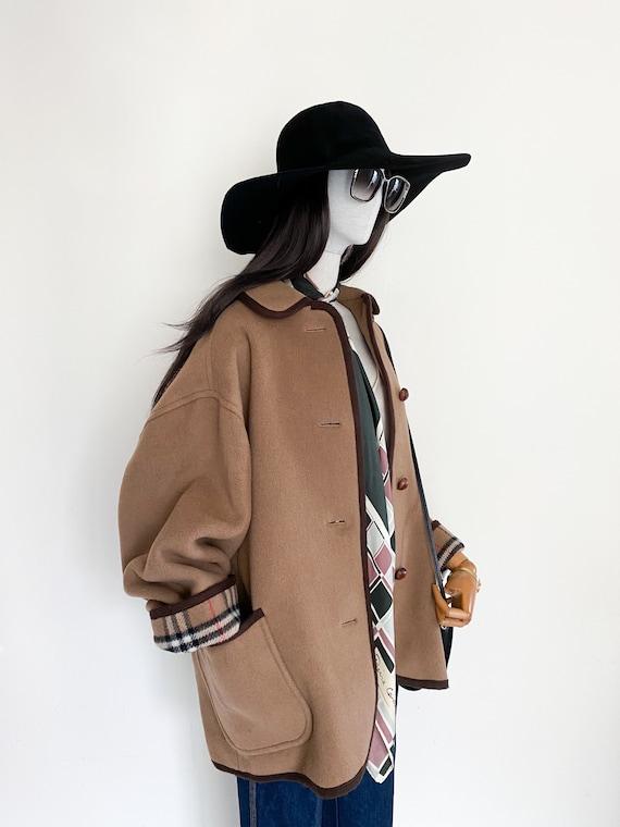VTG Burberrys duffle coating oversized coat - image 5