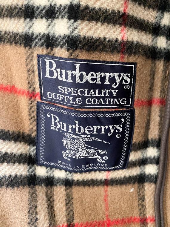 VTG Burberrys duffle coating oversized coat - image 10