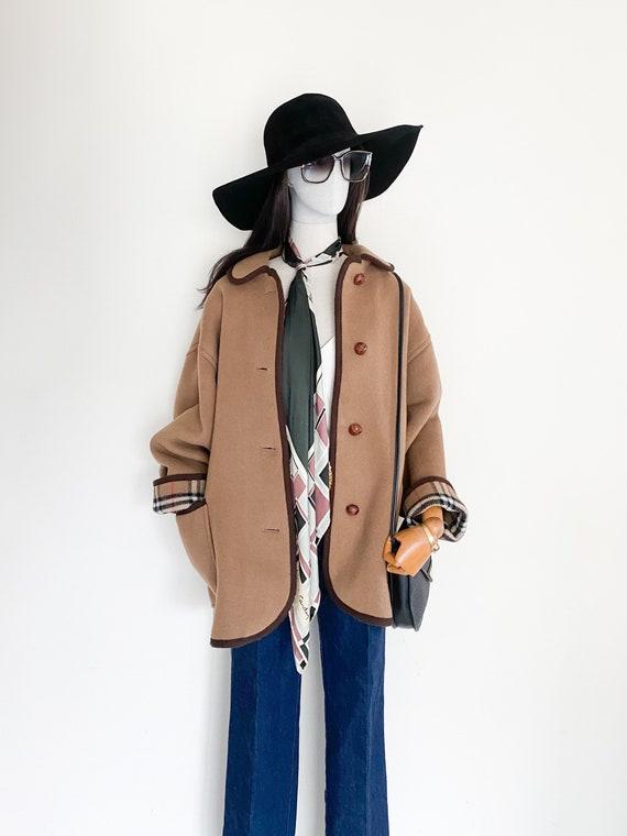 VTG Burberrys duffle coating oversized coat - image 7