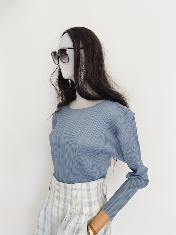Pleats Please by Issey Miyake pleated top - image 10
