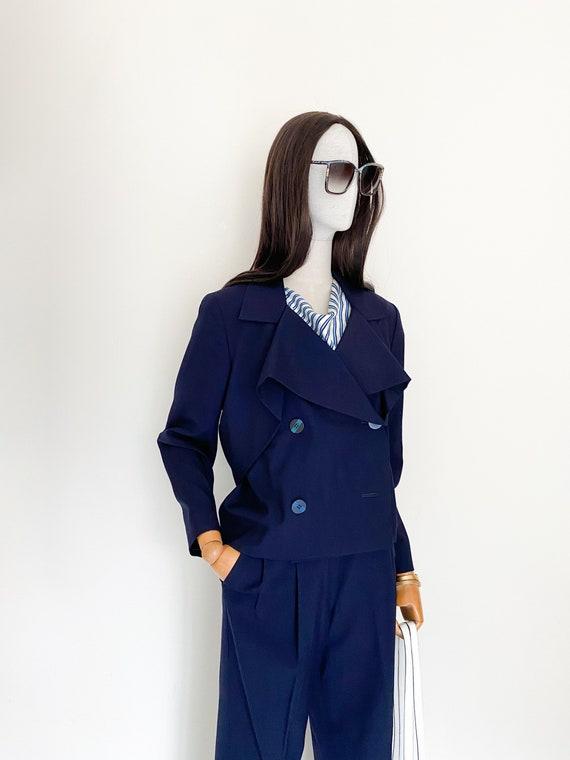 VTG Issey Miyake wool pants suit
