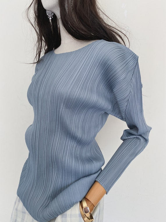 Pleats Please by Issey Miyake pleated top - image 8