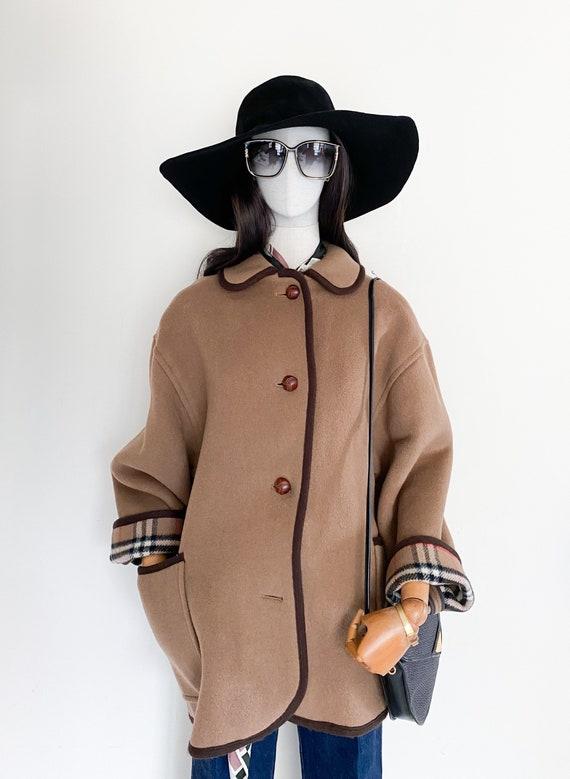 VTG Burberrys duffle coating oversized coat - image 6