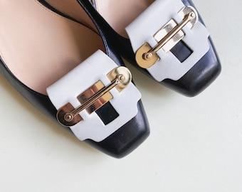 VTG TOD'S leather pumps
