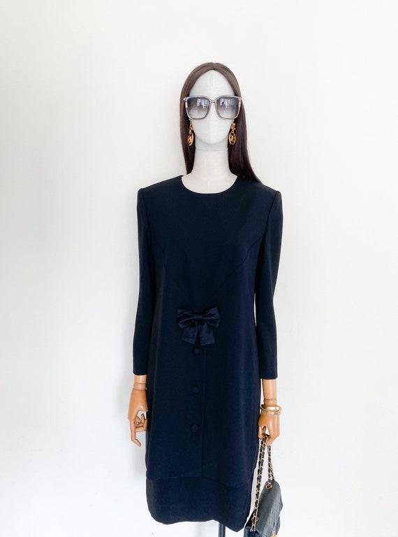 VTG Nina Ricci ceremonie one piece dress