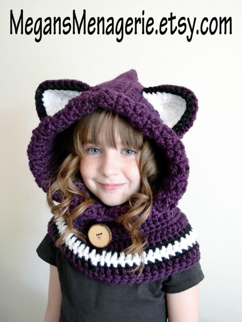 7872874f673 Fox Hat Fox Hoodie Fox Cowl Animal Hat Hooded Scarf