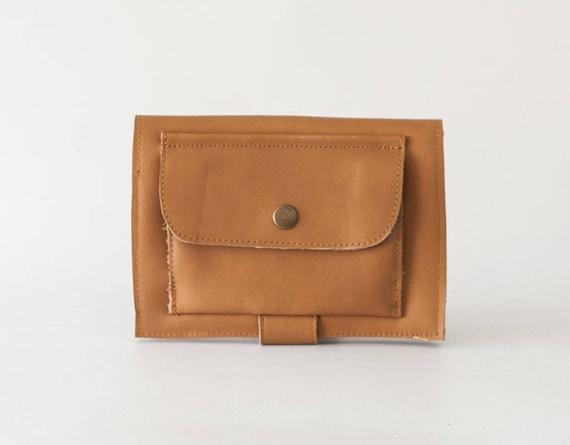 VENTE Beige grand portefeuille en cuir, pochette de téléphone, portefeuille femmes pliante, grand téléphone portefeuille en cuir, téléphone embrayage portefeuille - porte monnaie Iole