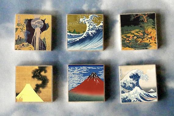 The Great Wave Off Kanagawa Painting Katsushika Hokusai Refrigerator Magnet