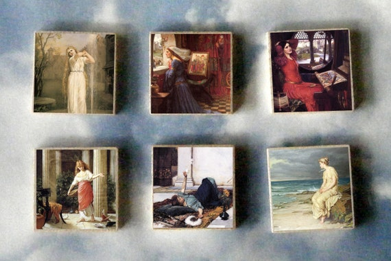 Undine by John William Waterhouse Giclee Canvas Print