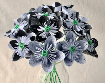 Etsy your place to buy and sell all things handmade paper flower bouquet origami flowers anniversary gift sympathy flowers mothers day valentines day office decor floral arangement mightylinksfo