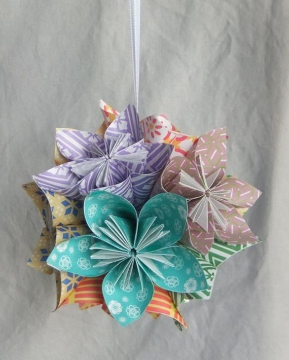 Flower ornament patterned happiness christmas tree etsy image 0 mightylinksfo