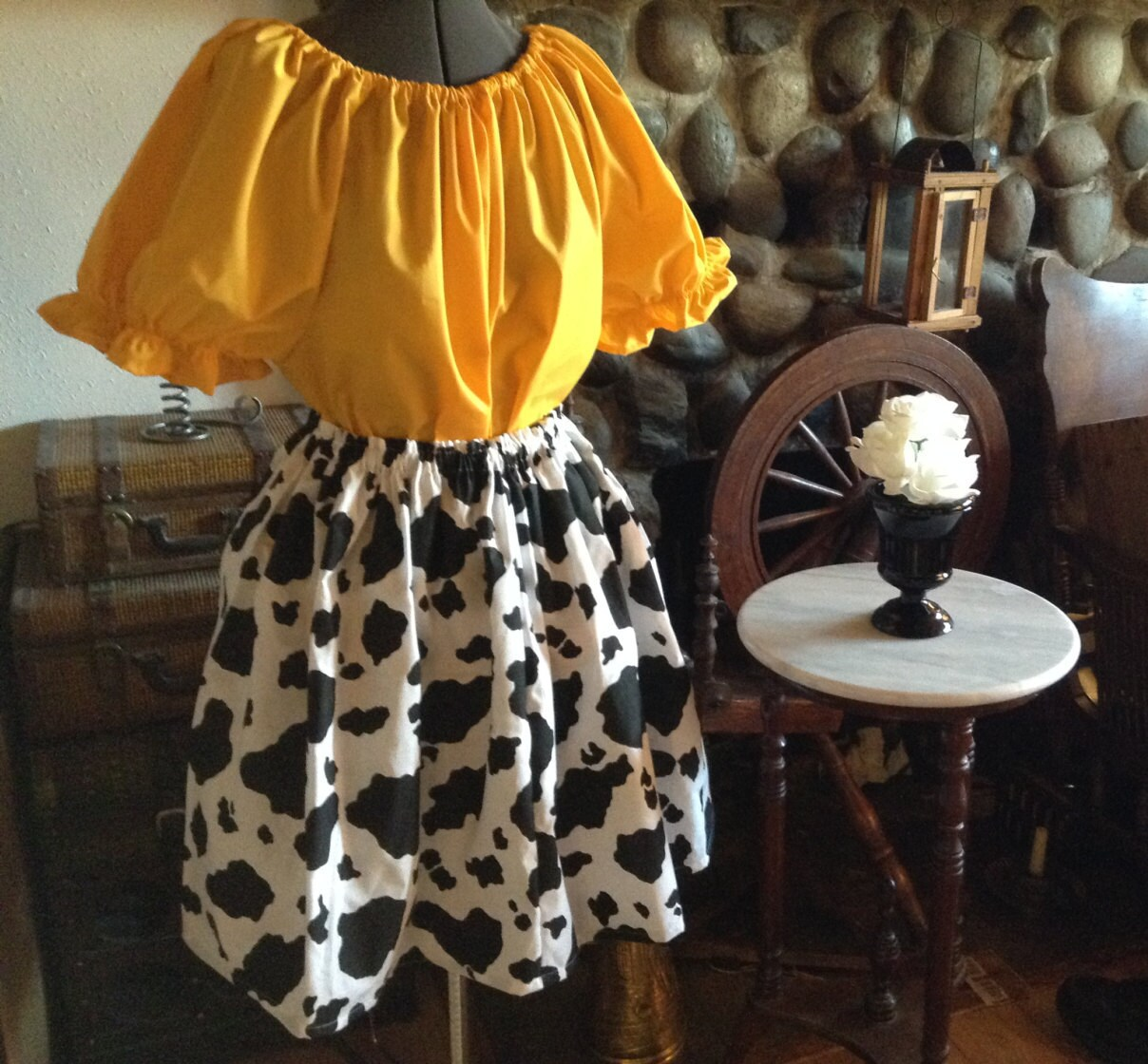 Toy Story Jessie señoras mujer adulto falda y blusa Halloween  affc4b1374c