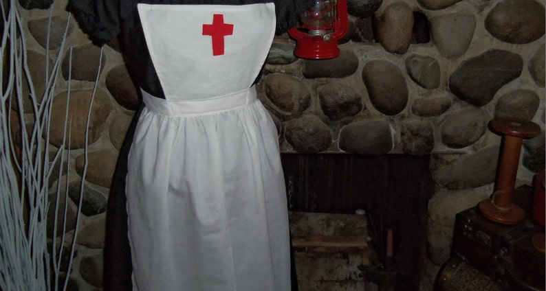 ff769a84e57b9 Clara Barton Historical Theme Colonial Costume Civil War | Etsy