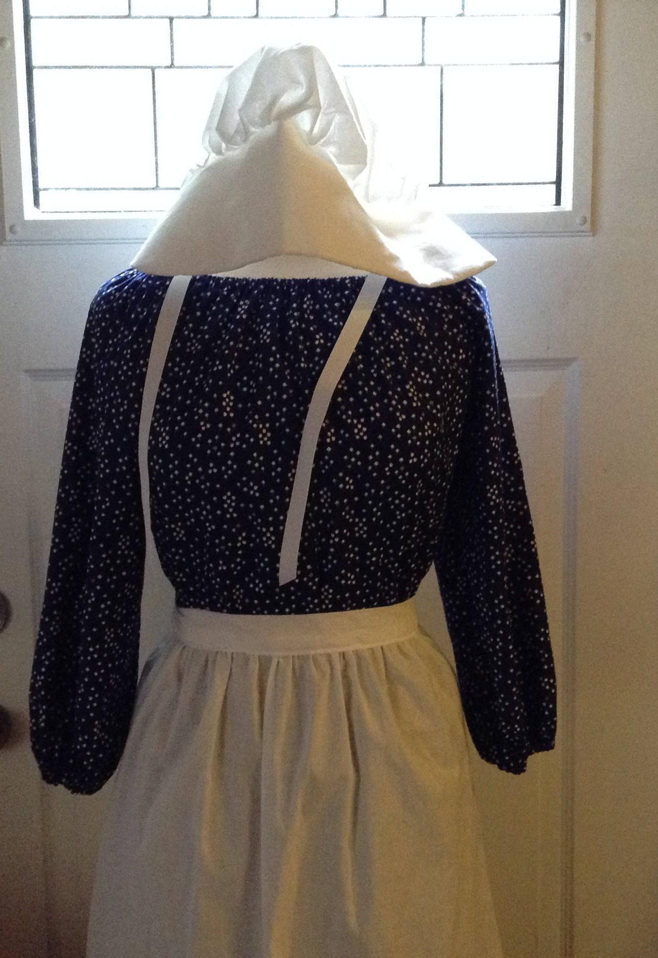 Pioneer Trek Clothing Civil War Dress Ready To Ship Girls Colonial