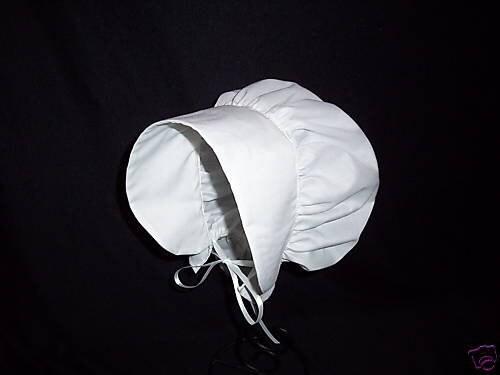Colonial Bonnet Girls or Women s Hat Bonnet Colors  d0d84482f38