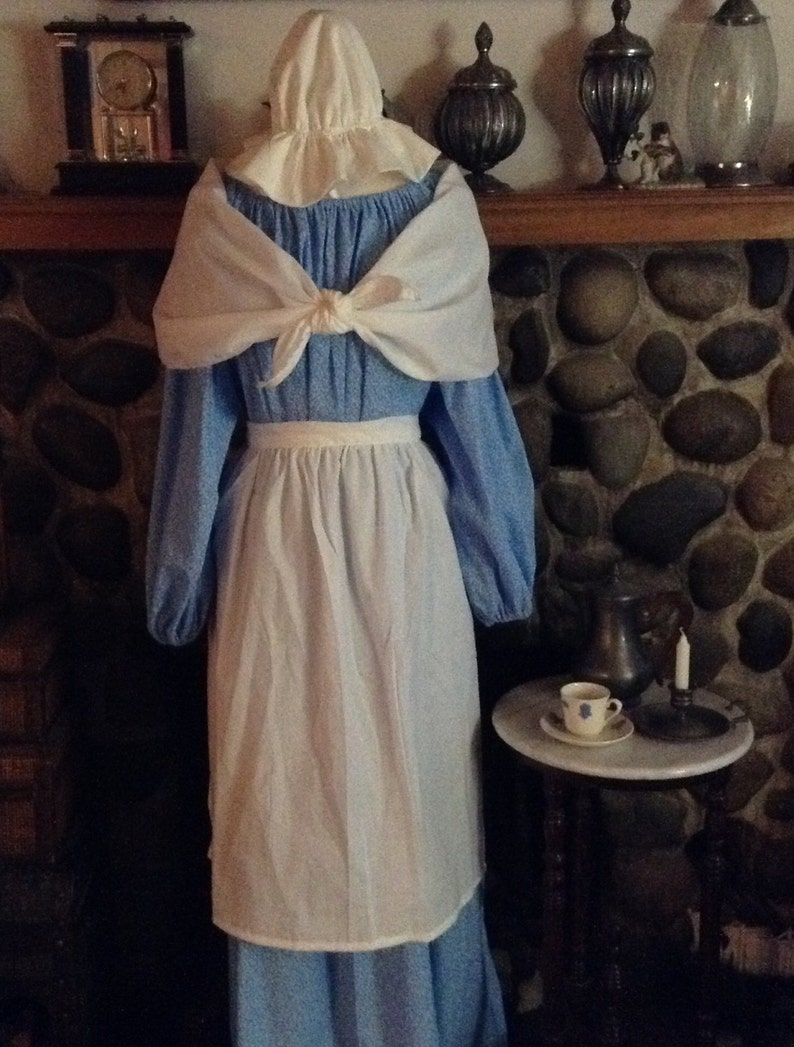 Phillis Wheatley Costume Colonial America Clothing For Ladies Etsy