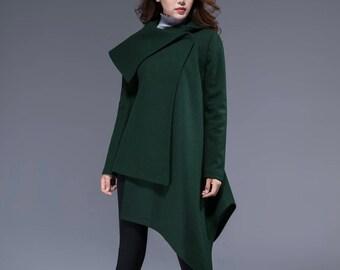 5999ba2f24 Asymmetrical coat