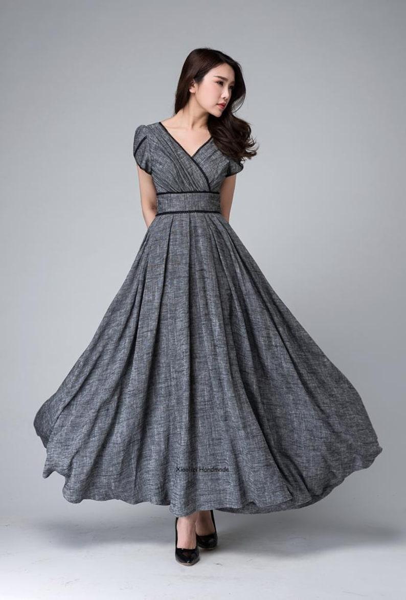 1d46834f0b4 Bridesmaid dress maxi dress empire waist dress party dress