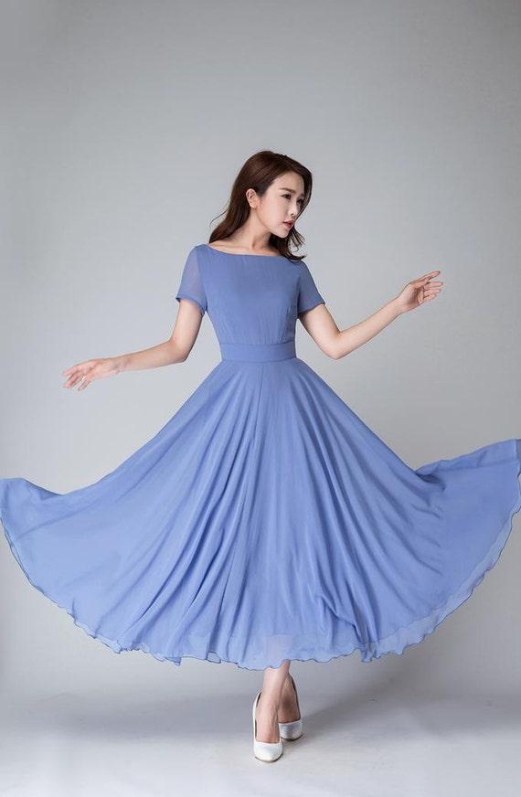 Short Chiffon Dresses for Women