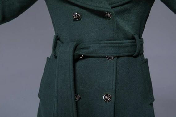 wool buttoned woman breasted coat coat green coat warm wool coat jacket coat coat double coat 1822 belted hooded womens outwear PwZqPr0
