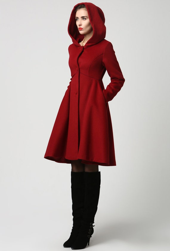 Wool Coat Etsy