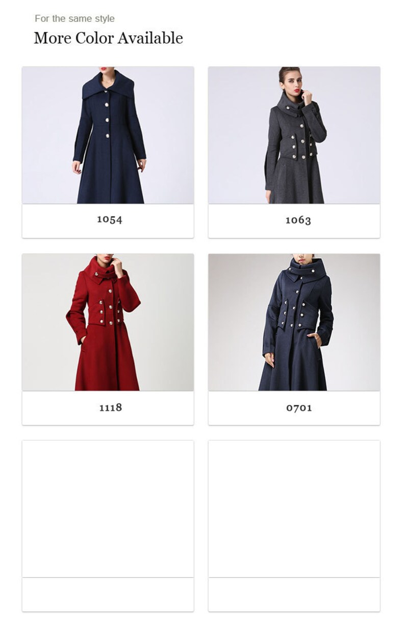48a0fbbc473 Red wool coat Long coat military Coat maxi coat Women