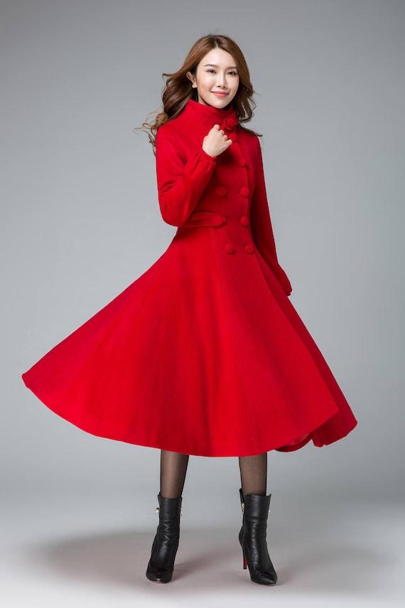 Fashion Fix: Rode jas Rode jassen, Outfits en Jas
