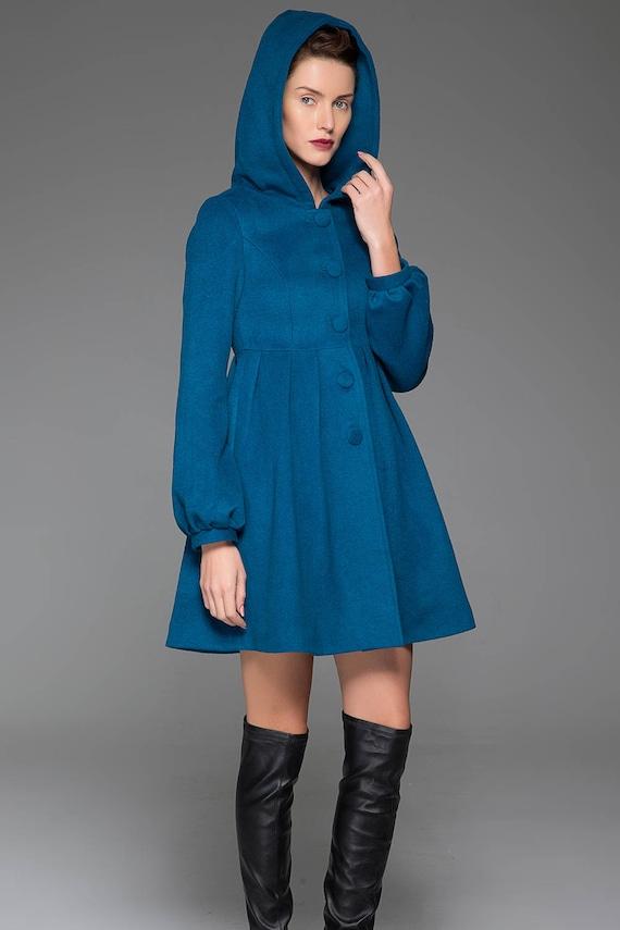 winter coat coat hooded Black 730 jacket wool jacket cashmere Custom winter hooded fall jacket wool jacket coat jacket coat 4YP0wnq6