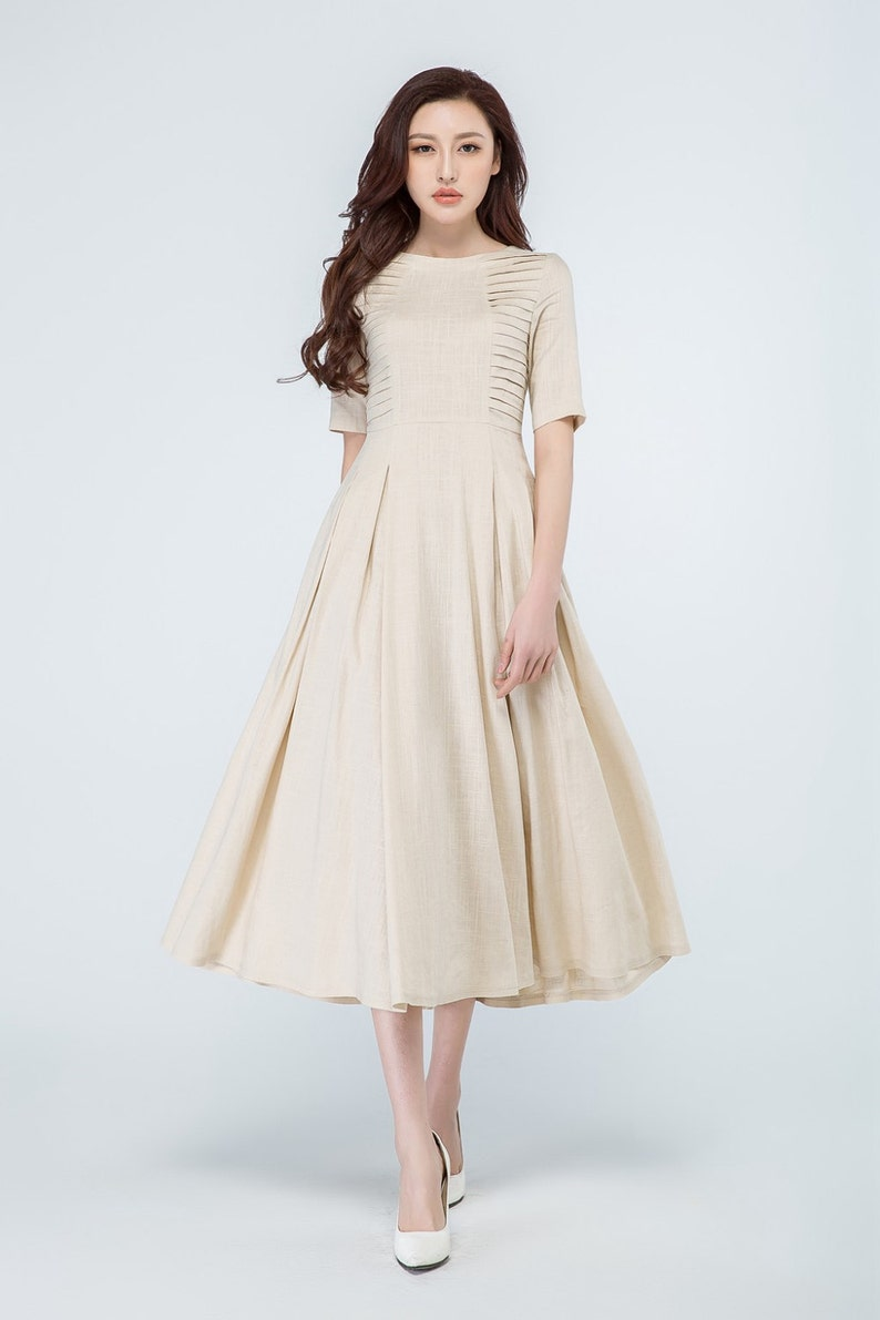 Image 0: Linen Summer Dresses For Weddings At Websimilar.org