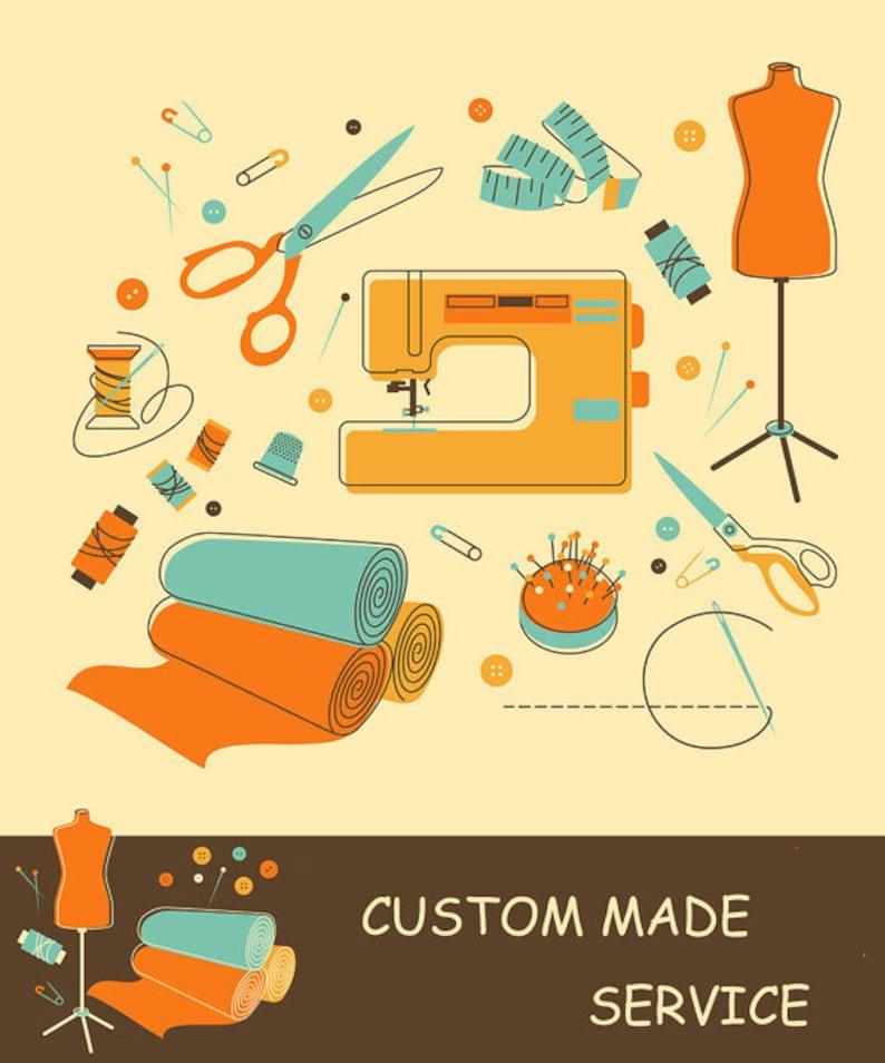 xiaolizi Custom order service  size guide extra custom fee image 0