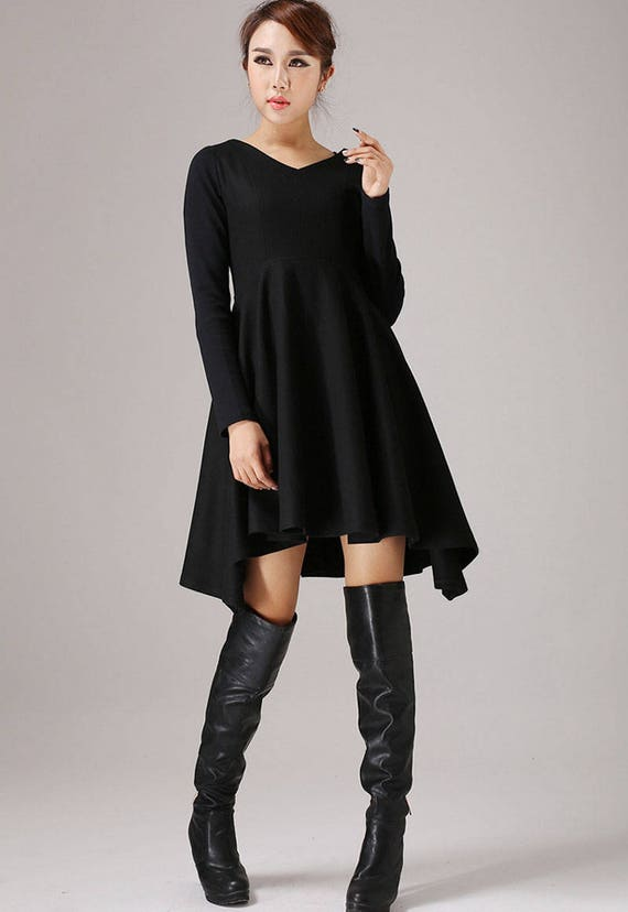 Cocktail Dress Little Black Dress Party Dress Womens Etsy
