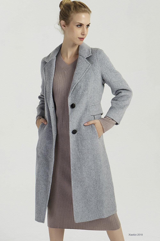 gray wool coat womens winter coats warm winter jacket long etsy. Black Bedroom Furniture Sets. Home Design Ideas