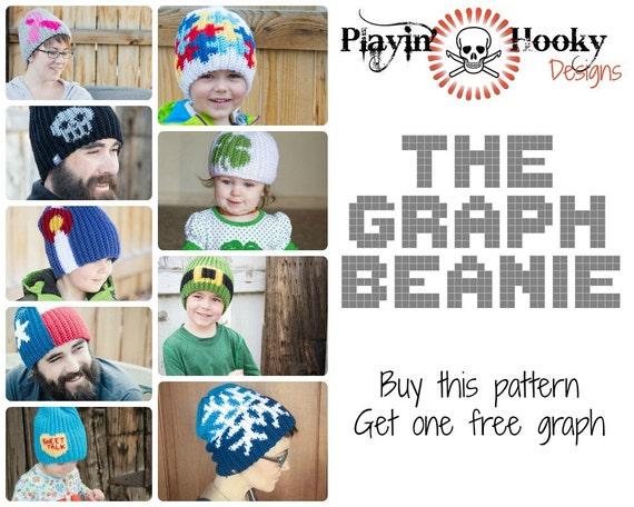 Crochet Pattern The Graph Beanie Base Hat Pattern Tutorial