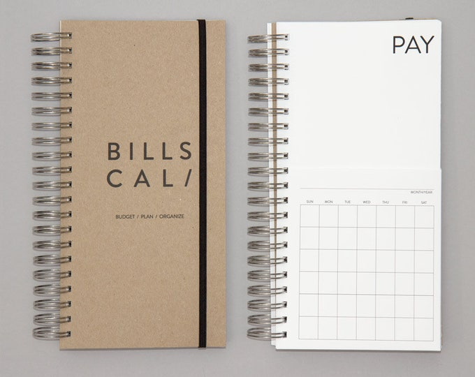 Reserved for Lisa-DIY Bills Calendar