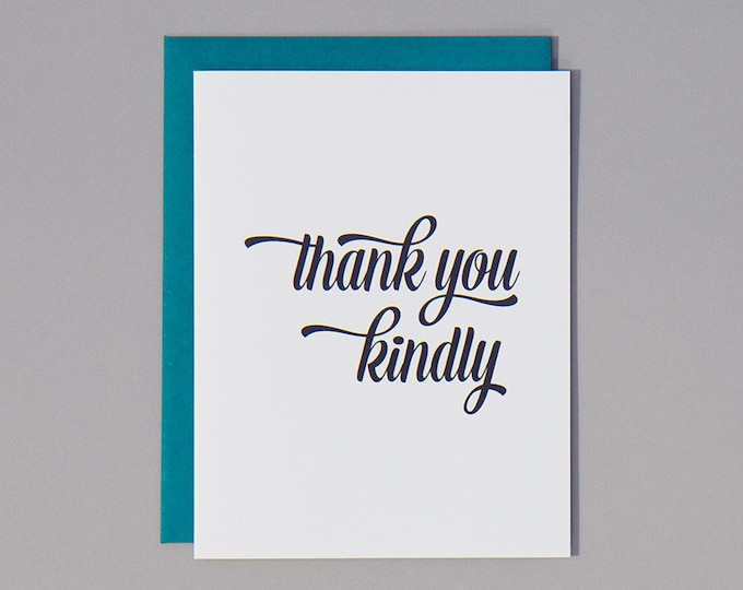 Thank You Kindly