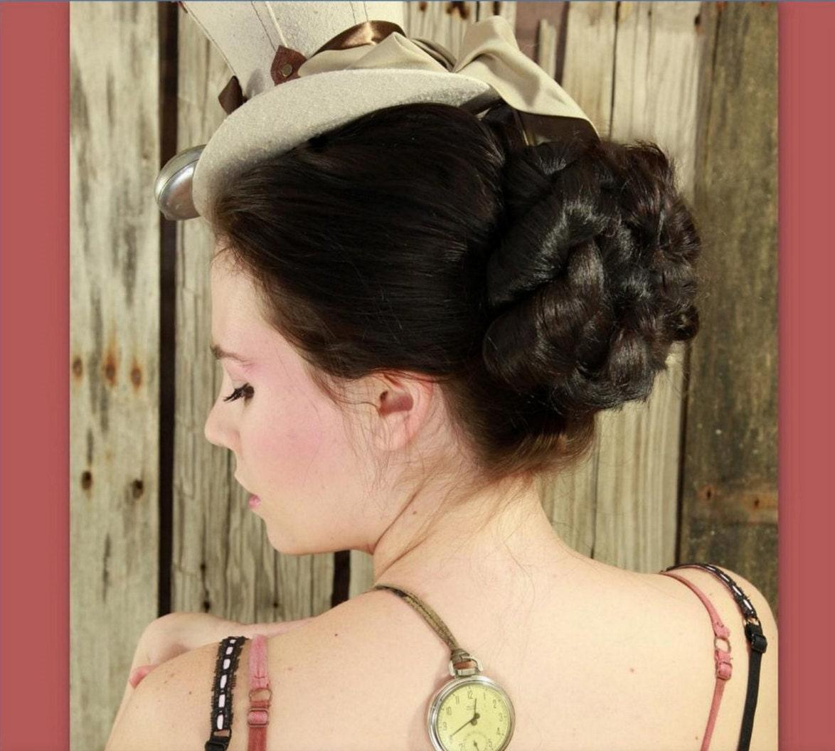 Victorian Style Wedding Hair: Bridal Wedding Accessory Hair Piece Hairpiece Formal Hair