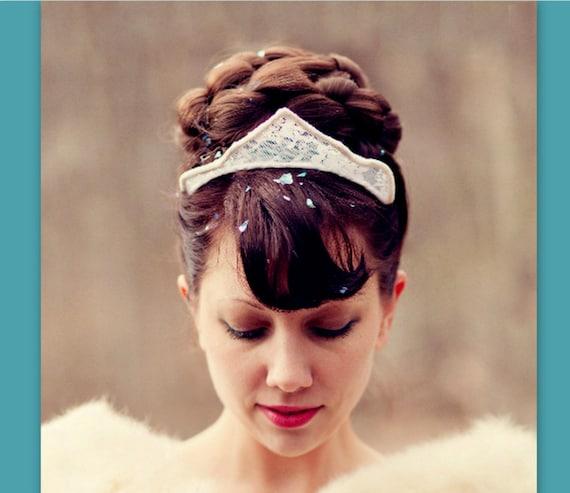 wedding hairpiece bun hair style accessory