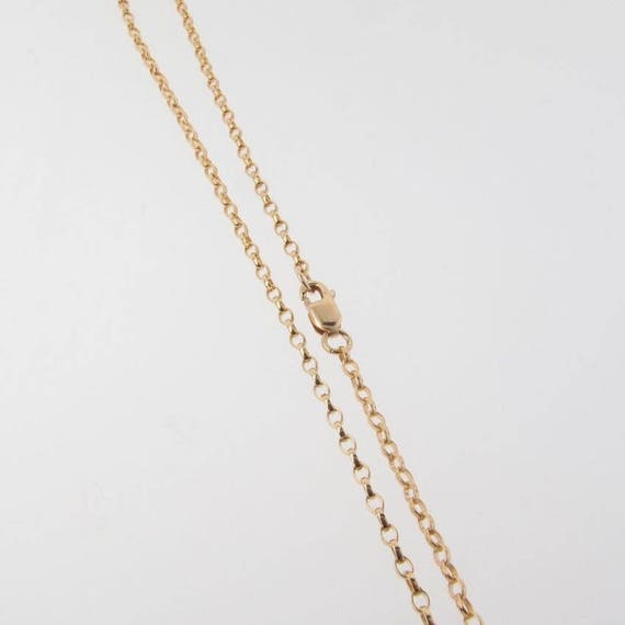 18 Inch Rose Gold Filled Rolo Chain Necklace W// Spring Clasp