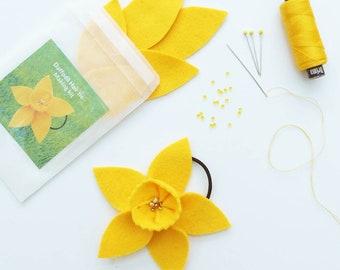 Daffodil Hair tie Making Kit
