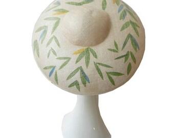 Leaf Brim Hat