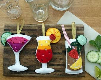 Make your own Felt Cocktail Kit