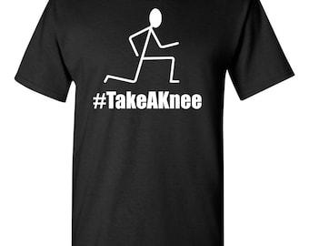 Take A Knee  Black Lives Matter BLM Resist Protest Colin Kaepernick Black  shirt  T-shirt Sm-3XL