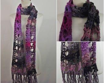 crochet scarf ,handmade,  ready to ship