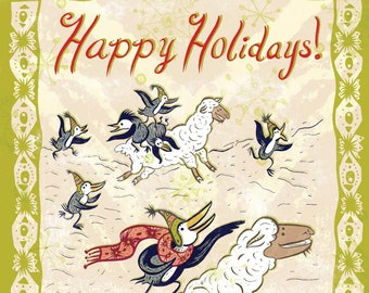 Happy Holiday Card & Mini Comic